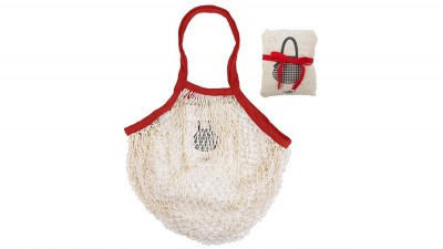 Sac pliable en coton naturel