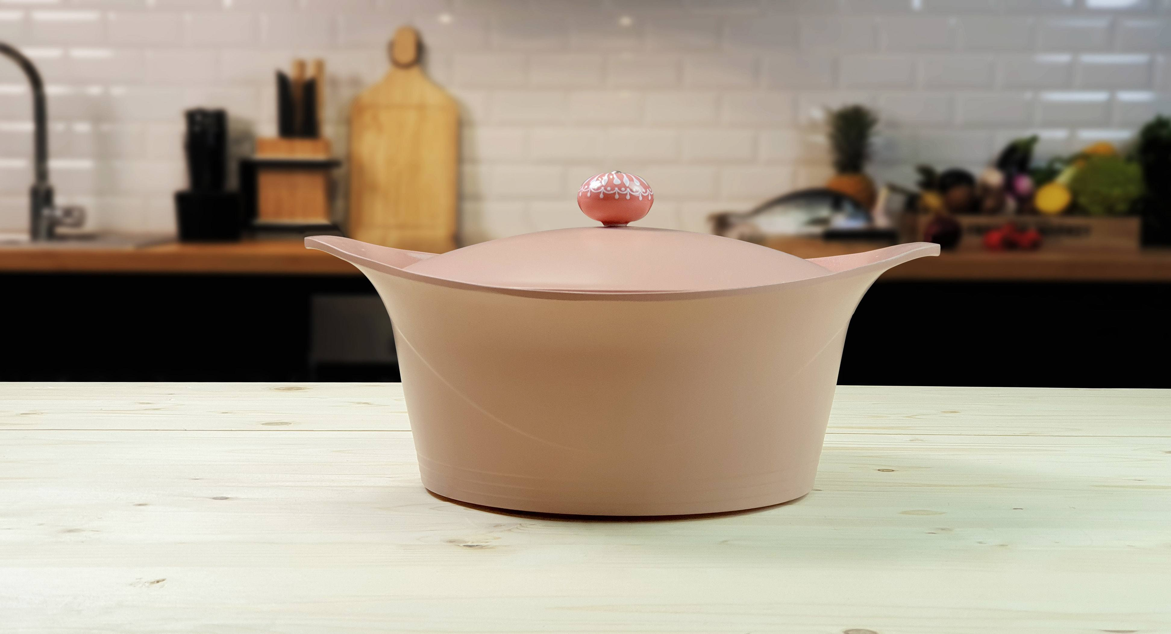 cocotte induction cookut rose