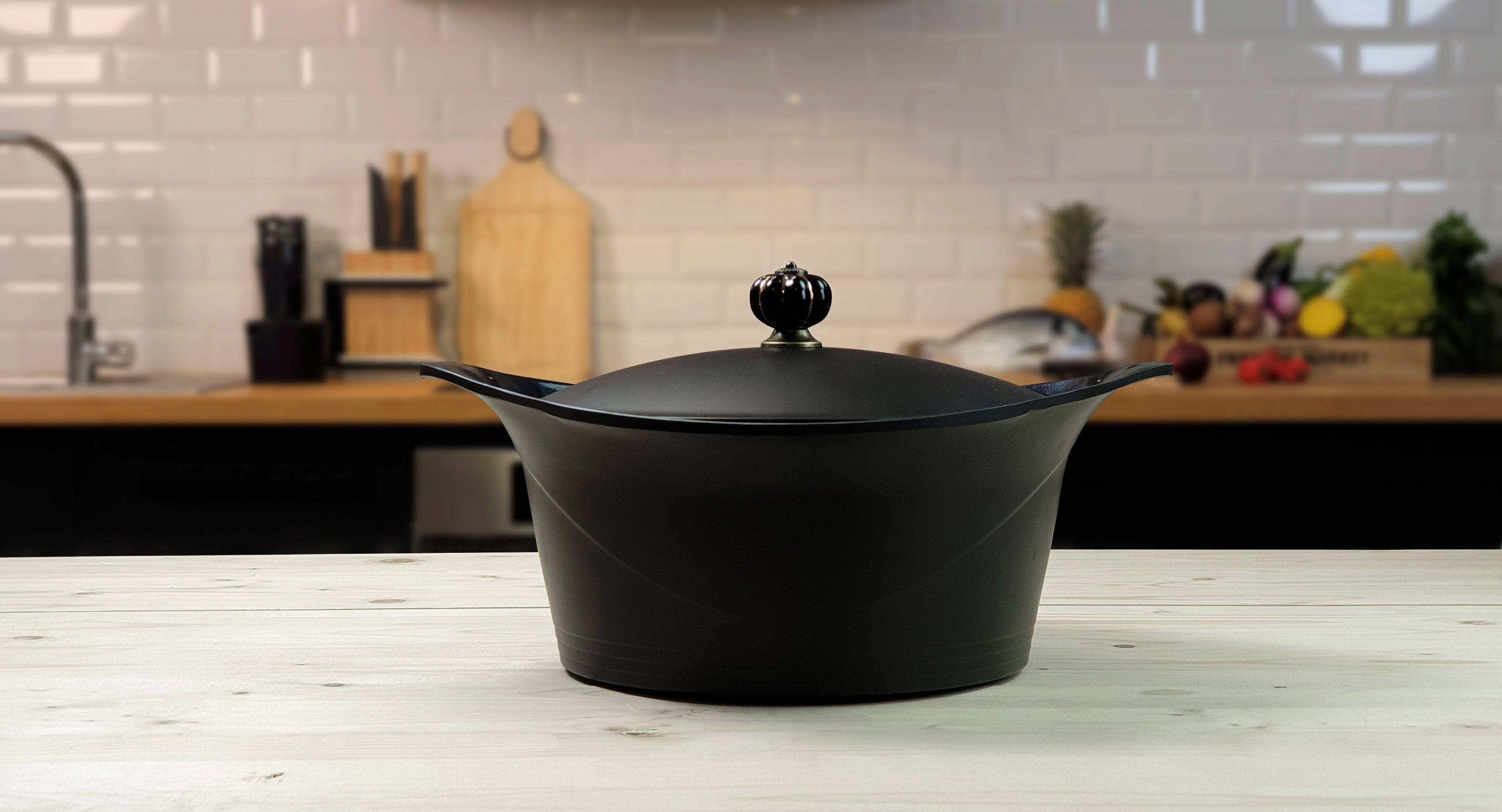 cocotte induction cookut noire